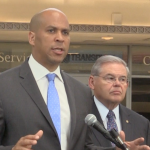 Booker, Menendez want Secaucus-based TV station to lose their FCC license