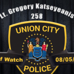 Union City Police Department announces passing of Lt. Gregory Katseyeanis
