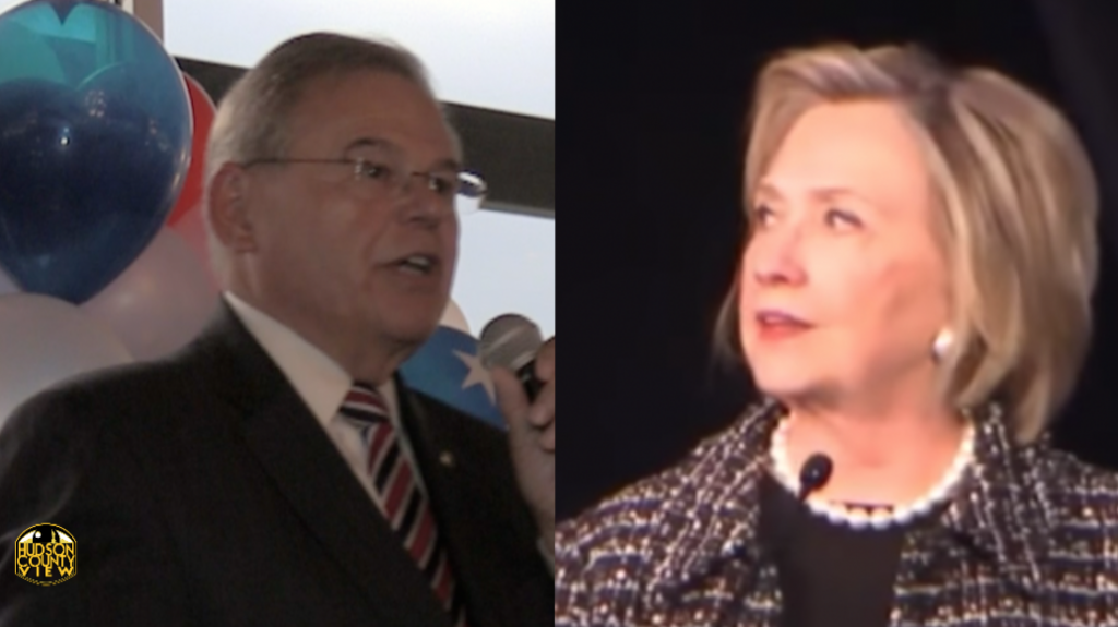 hillary clinton set to fundraise for menendez s re election in