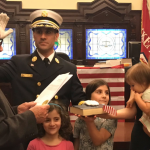 11 months after receiving 'acting' title, Hoboken swears in Crimmins as fire dept. chief