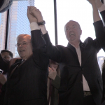 Murphy, Bhalla, Mukherji, Amy DeGise, Lavarro host rally for Menendez in Jersey City
