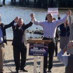 Looking to boost Menendez, Booker headlines GOTV rallies in Hoboken and Jersey City