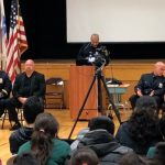 West New York officials, PBA commemorate Veterans Day at Public School No. 5