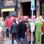 Very bad Santas: annual Hoboken holiday bar crawl yields 14 arrests, 4 cops injured