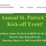 St. Patrick's Day event to fundraise for Bayonne Economic Opportunity Foundation