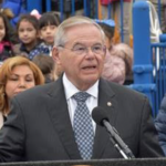 At Union City Day Care Center, Menendez discusses bill to aid low-income families