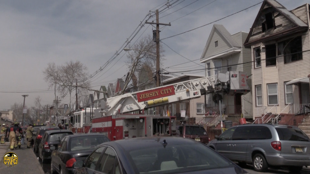 3-alarm Jersey City fire leaves 14 displaced, man touted as hero for