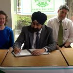 Hoping to be carbon neutral, Hoboken Mayor Bhalla signs climate action plan exec order