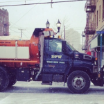 With West New York DPW overtime up $28k from last year, what's the explanation?