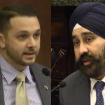 DeFusco, Bhalla trade heavy shots over new Nixle 'ethics proposal' in Hoboken