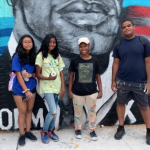 Jersey City youth express their creativity with spray paint, create murals in Greenville