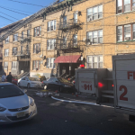 Bayonne firefighters quickly extinguish second floor blaze in apartment building