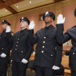 Jersey City Police Department swears in nine new officers, bringing force to over 900