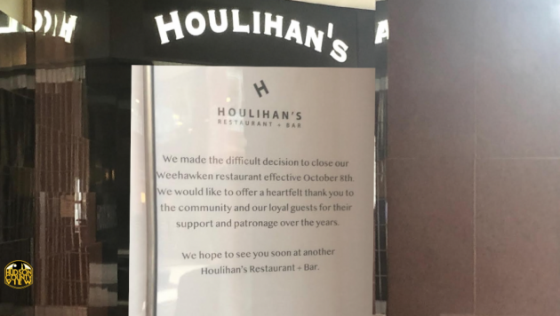 Without Much Explanation Houlihan S In Weehawken Suddenly