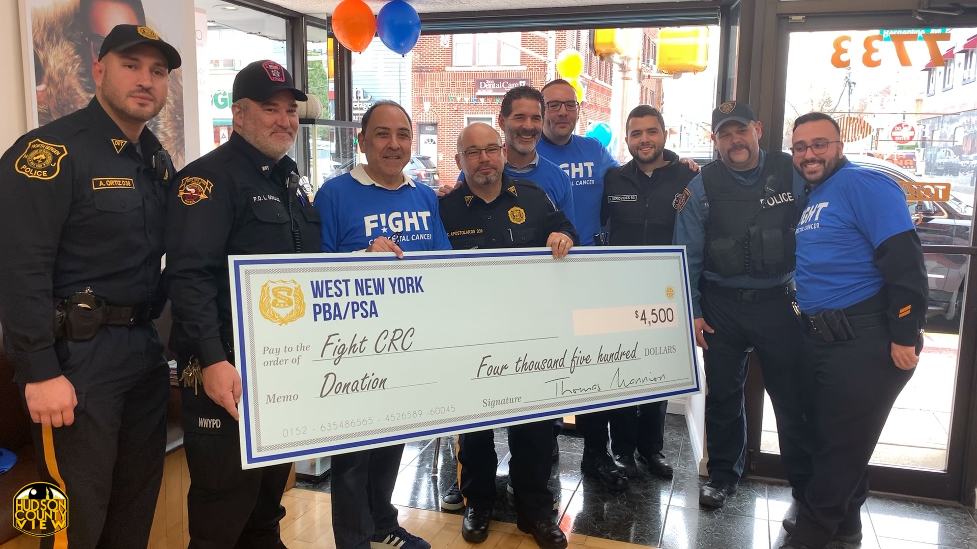 North Bergen Optician Fundraises For Colon Cancer Awareness During No Shave November Hudson County View