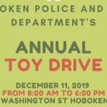 Hoboken Police and Fire Departments teaming up to host annual toy drive