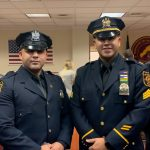 North Bergen Police Department promotes two officers to higher ranks