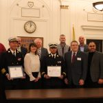 North Hudson Regional Fire & Rescue receives 'Above and Beyond' from Dept. of Defense