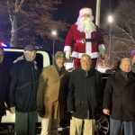 North Bergen children and officials brave cold temps for annual holiday tree lighting ceremony
