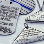 'Shields of Strength' dog tags donated to Jersey City police to honor fallen Det. Seals
