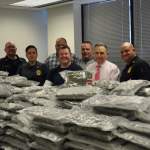 Hudson County Sheriff's Office intercepts $1.5M worth of marijuana at Kearny warehouse