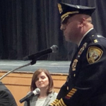 20-year police veteran Dennis Miller sworn in as new Secaucus police chief