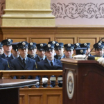 Jersey City Fire Department swears in 32 new recruits at City Hall ceremony