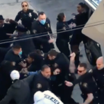 Use of force under scrutiny for Jersey City cops who broke up 'large street fight' yesterday