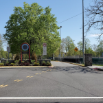 Braddock Park to begin closing road to traffic circle on weekends for bicyclists