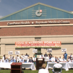 Davis, Bayonne Medical Center workers come out in support of BMC Hospital LLC deal