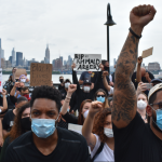 'Black Lives Matter!' chants echo throughout Hoboken as thousands join George Floyd protest