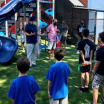 Hoboken officials join local children to celebrate grand opening of Jefferson Park