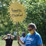 Protesters rallying against Kearny power plant call on Murphy to take a stance