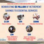 Lavarro, Solomon propose redirecting $5M from public safety into community programs