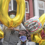 Jersey City hosts 'caravan' 100th birthday party for lifelong resident Eva Missouri
