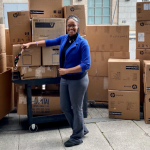 McKnight teams up with Jersey City businesses to donate 120 computers to schools