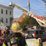 Bayonne firefighters extinguish 2-alarm residential blaze, 9 residents displaced