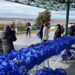 HRH donates Thanksgiving meals to 200 families at 2nd annual giveaway