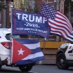 Dozens of vehicles participate in Trump caravan through Weehawken and Hoboken