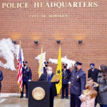 Hoboken Police Department promotes two officers to the rank of sergeant