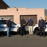 Secaucus Police Department unveils two new hybrid Ford Escape vehicles