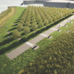 Jersey City will invest $10M into Skyway Park, which will memorialize COVID-19 victims