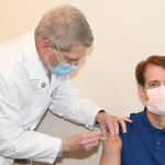 Hackensack Meridian Health CEO receives COVID-19 vaccination at Palisades Medical Center
