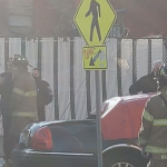 Authorities investigating fatal Jersey City crash that caused car to be engulfed in flames