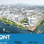 Bayfront Redevelopment Plan presented at Jersey City Council caucus meeting