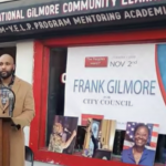 Frank 'Educational' Gilmore holds formal Jersey City Ward F council campaign kickoff