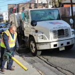 After snowy February, North Bergen Department of Public Works starts major road cleanup